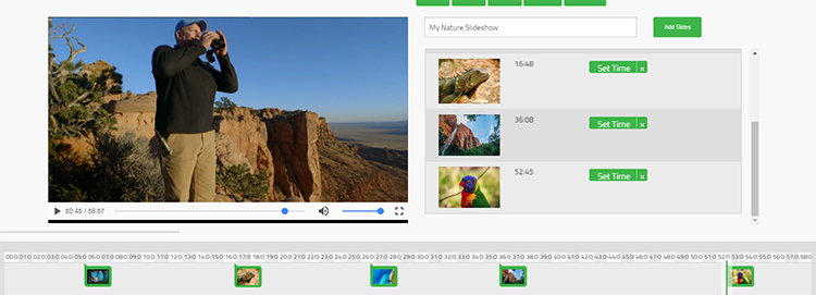 Create Slideshows with Planet eStream