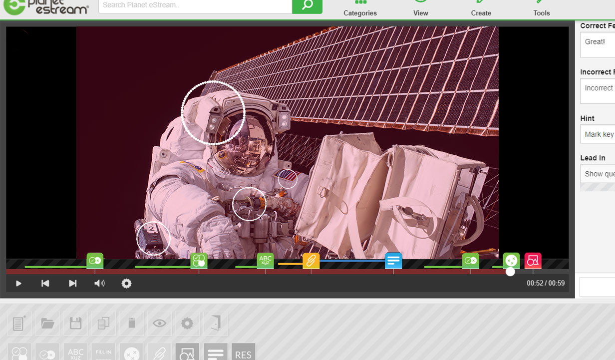 Add Hotspots to Interactive Videos with Planet eStream